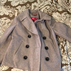 Wool Grey Coat